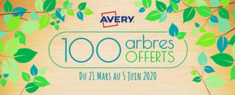 Opération 100 arbres offerts AVERY
